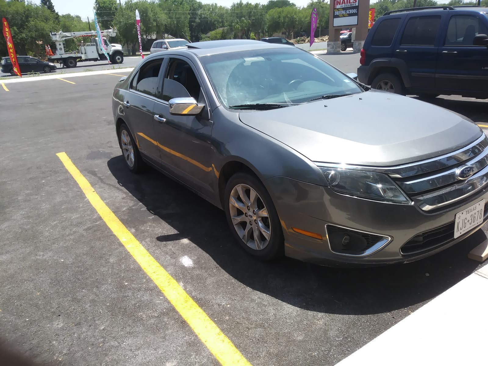 Ford Fusion Questions - Can i fit a mustang motor on my 2012 ford