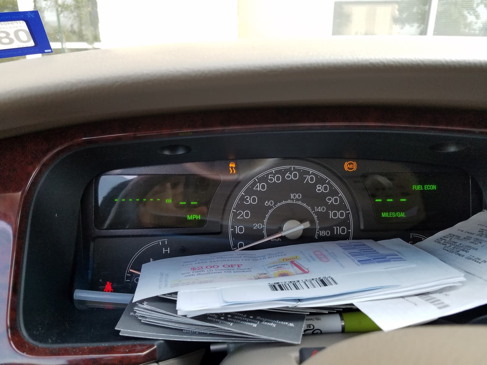 Lincoln Town Car Questions Dashboard Goes Blank And Speedometer