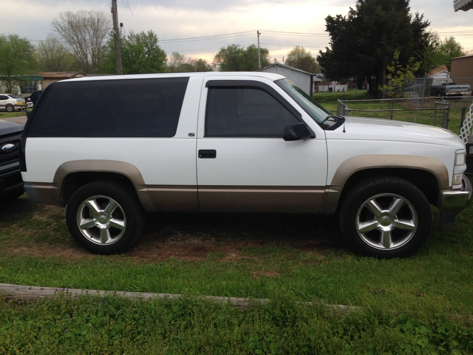 Chevrolet Tahoe Questions I Have 1998 4x4 2 Dr Tahoe It Had The