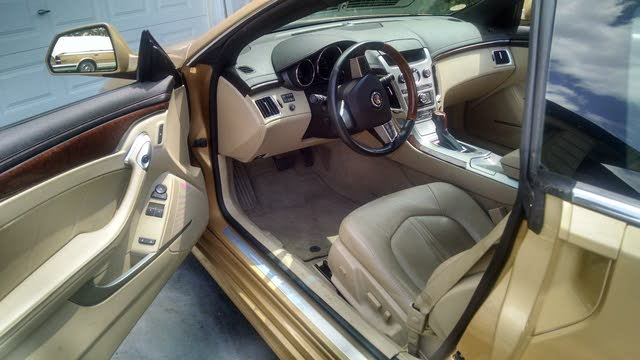 2013 Cadillac Cts Coupe Interior Pictures Cargurus