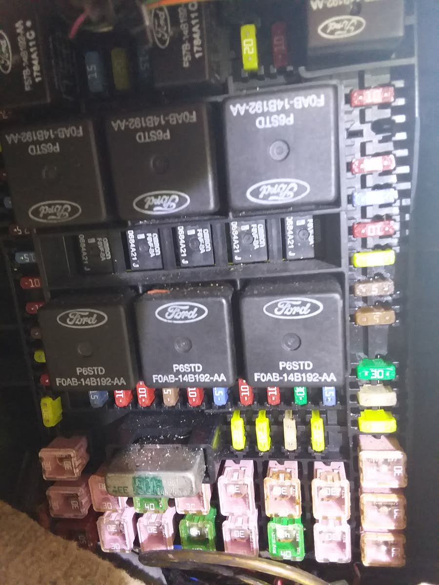 Lincoln Navigator Questions - Fuse Box