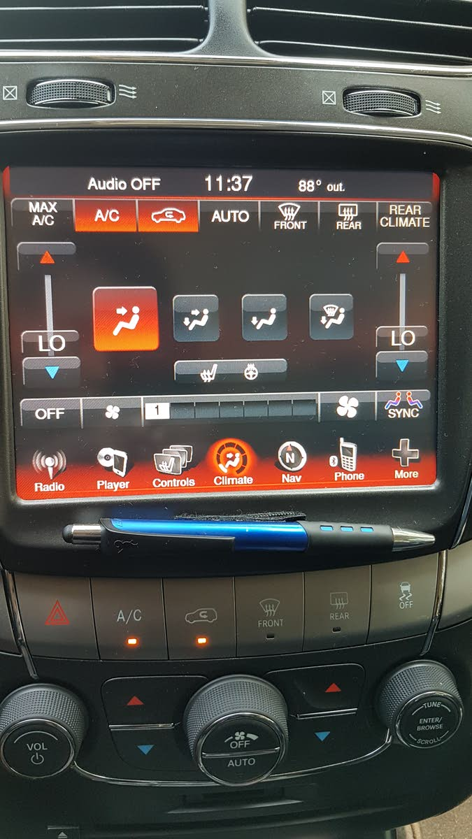Dodge Journey Questions Why Isn T The Climate Control In Rear Working Vents Etc Cargurus