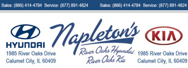 Napletonu0027s River Oaks Hyundai Kia   Calumet City, IL: Read Consumer  Reviews, Browse Used And New Cars For Sale