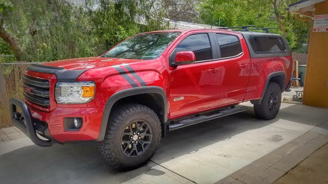 Picture of 2017 GMC Canyon SLE Crew Cab LB 4WD, exterior, gallery_worthy