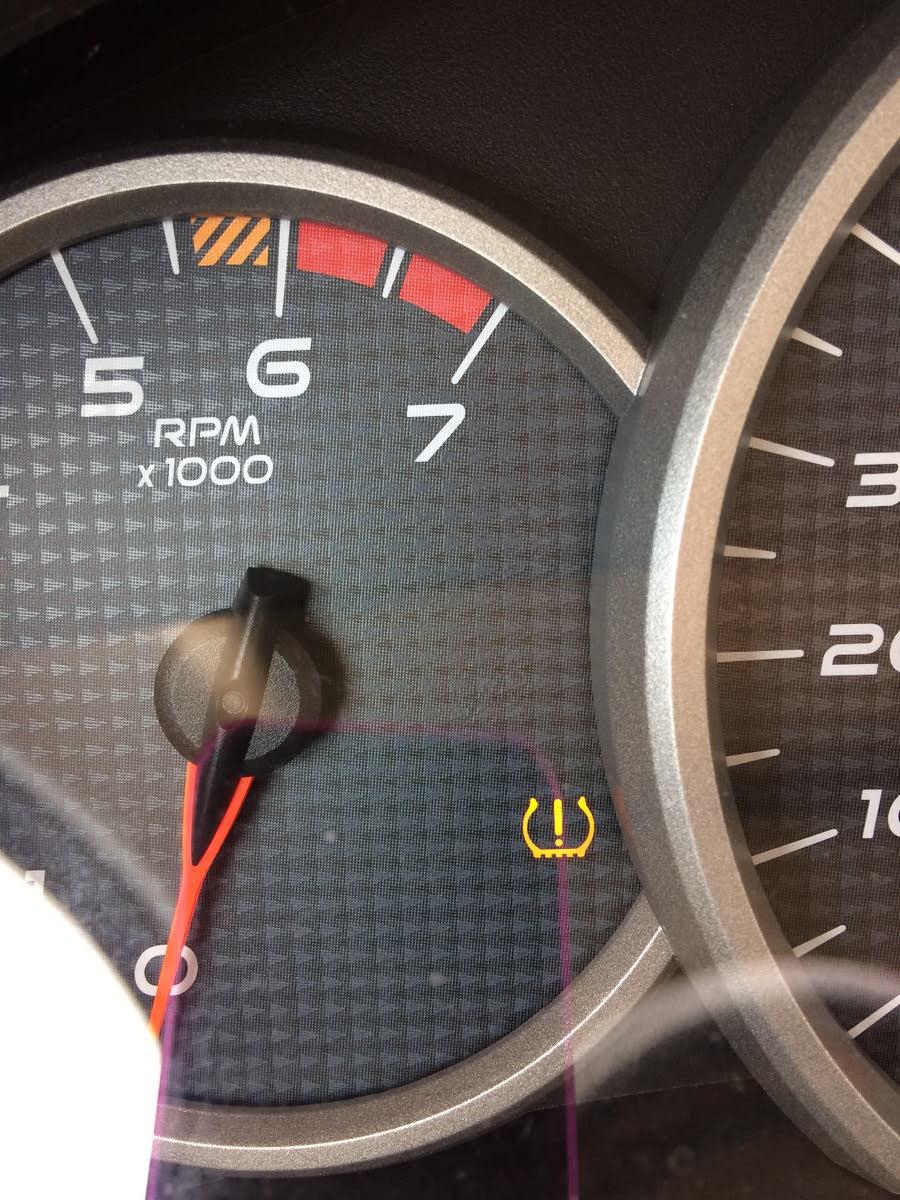 2013 buick lacrosse tire pressure sensor reset