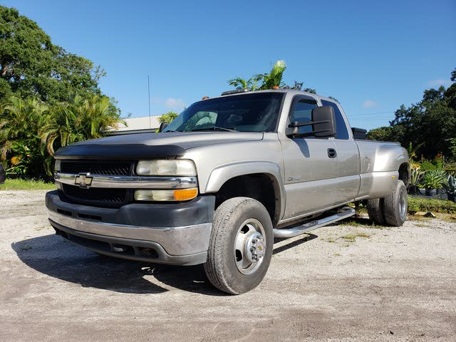 Picture of 2002 Chevrolet Silverado 3500 LS Extended Cab LB DRW RWD, exterior, gallery_worthy