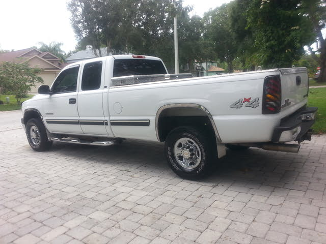 Picture of 2001 Chevrolet Silverado 2500 Extended Cab 4WD, exterior, gallery_worthy