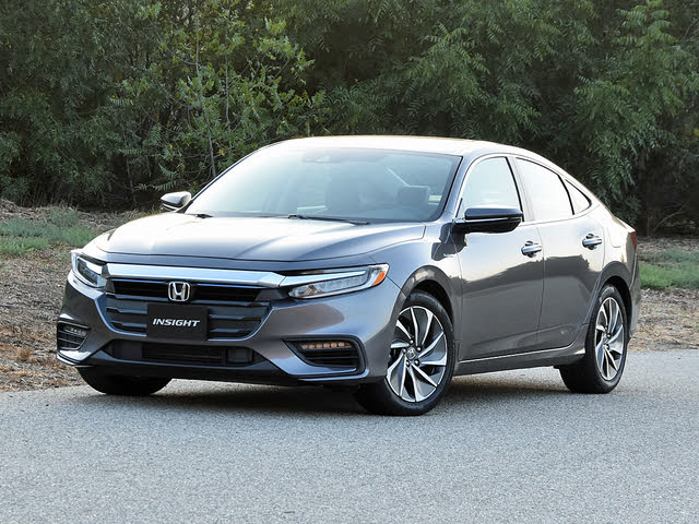 2019 Honda Insight Touring in Modern Steel Metallic