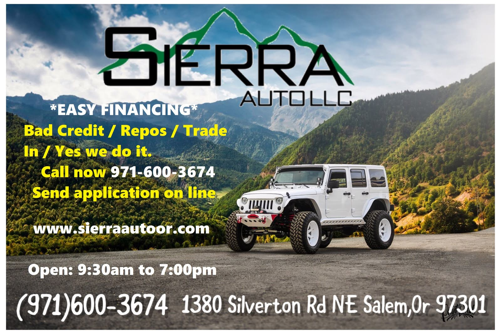 Sierra Auto Finance >> Sierra Auto Llc Salem Or Read Consumer Reviews Browse