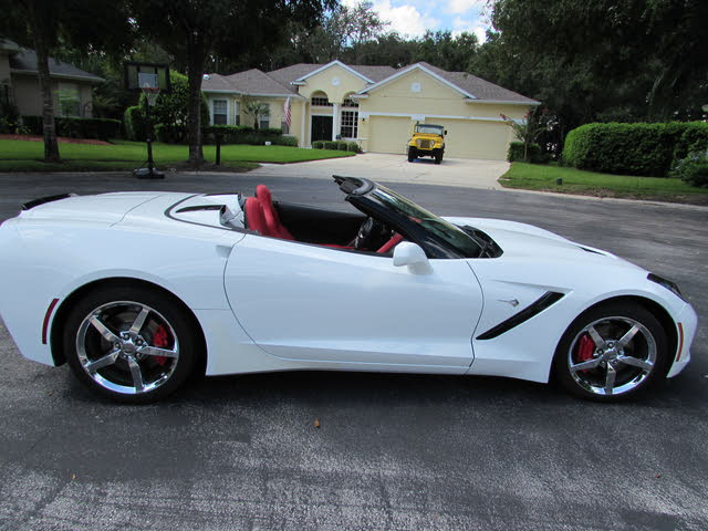 Picture of 2014 Chevrolet Corvette Stingray 1LT Convertible RWD, exterior, gallery_worthy
