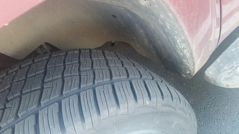 1996 chevy 1500 tire size