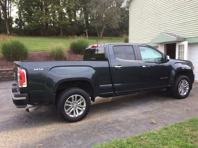 Picture of 2017 GMC Canyon SLT Crew Cab LB 4WD, exterior, gallery_worthy