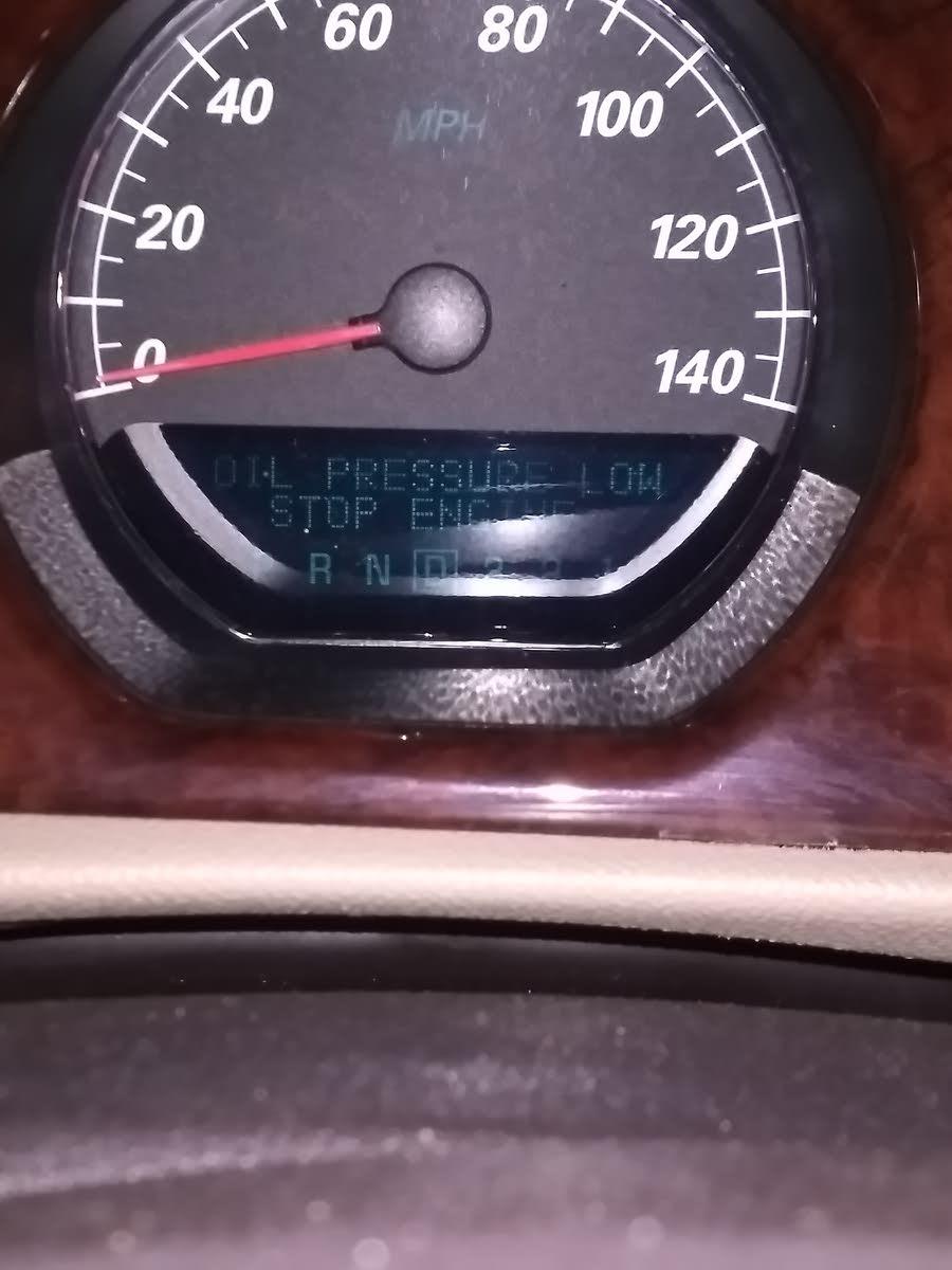 2008 buick enclave oil change reset