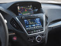 2019 Acura MDX A-Spec Navigation and Radio Display, gallery_worthy