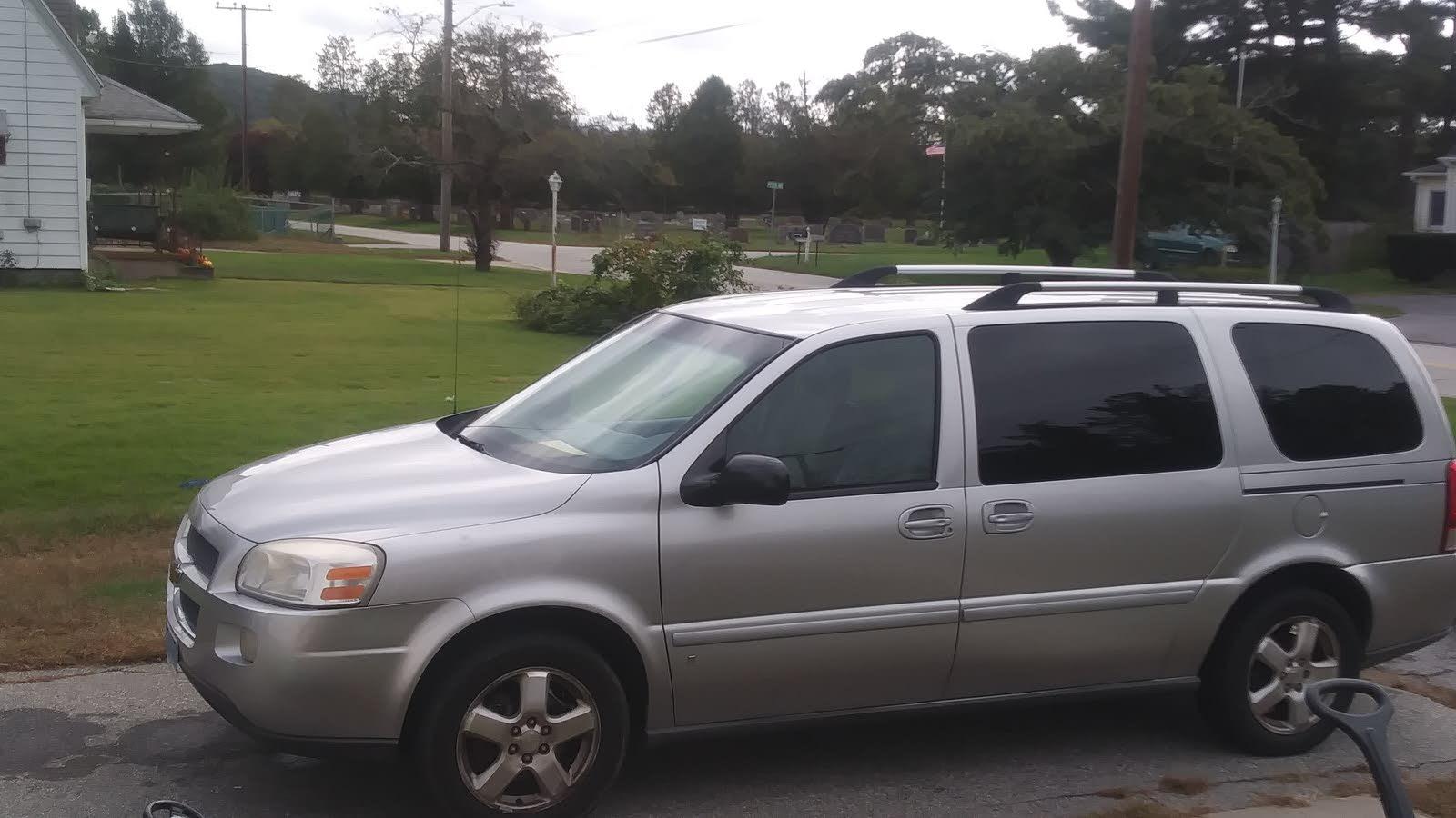 Chevrolet Uplander Questions - Remove Seats Of Chevy Uplander 2007