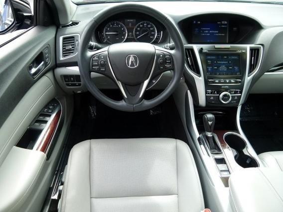2016 Acura Tl >> 2016 Acura Tlx Interior Pictures Cargurus