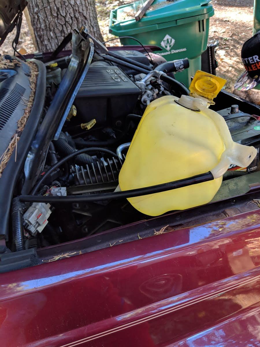 Jeep Grand Cherokee Questions Coolant Tank Cargurus