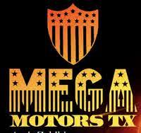 Mega Motors TX logo
