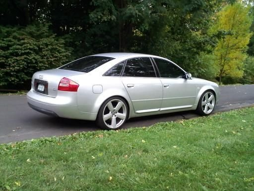 Audi A6 Questions - Car shakes/shudders when accelerating from a