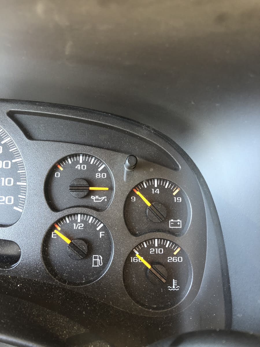 Chevrolet Avalanche Questions - Oil Pressure gage - CarGurus