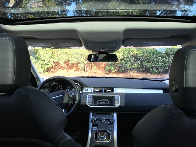Range Rover Evoque Interior >> 2016 Land Rover Range Rover Evoque Interior Pictures