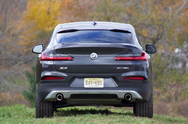 Rear profile of the 2019 BMW X4, exterior, gallery_worthy