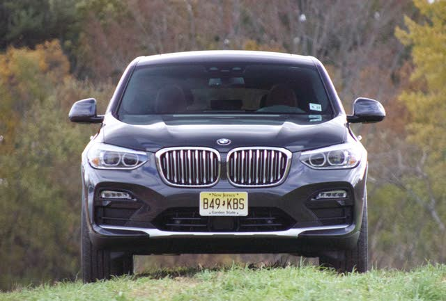 Front profile of the 2019 BMW X4, exterior, gallery_worthy