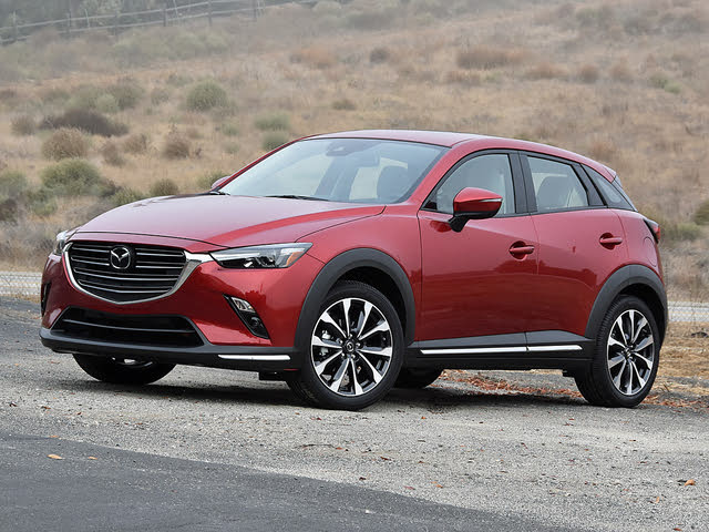 2019 Mazda CX-3 Grand Touring in Soul Red Crystal