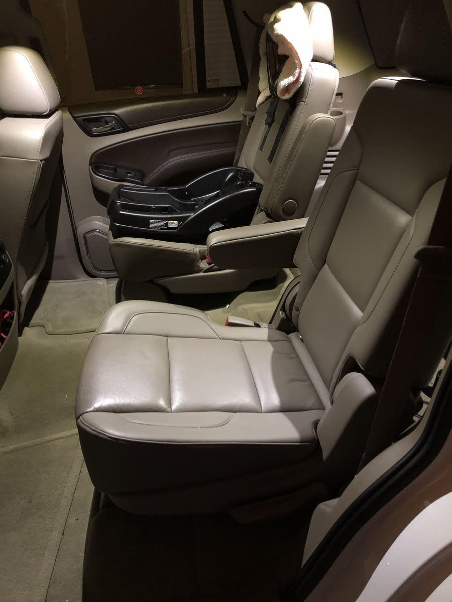 Chevrolet Tahoe Questions - 2017 Chevy Tahoe LT 2nd row captain (bucket) seats Swap - CarGurus