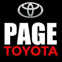Page Toyota logo