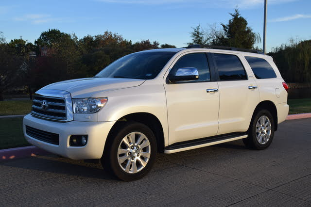 Picture of 2013 Toyota Sequoia Platinum FFV 4WD