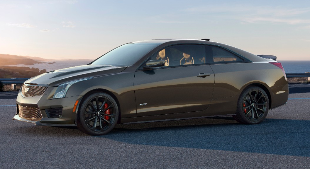 2019 Cadillac Ats V Coupe Overview Cargurus