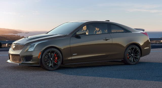 2019 Cadillac ATS-V Coupe, exterior, manufacturer, gallery_worthy