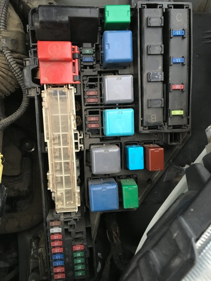 2011 toyota prius fuse box    toyota       prius    questions 2005    prius    will not start after     toyota       prius    questions 2005    prius    will not start after