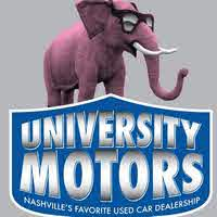 university motors inc nashville tn read consumer reviews browse used and new cars for sale. Black Bedroom Furniture Sets. Home Design Ideas