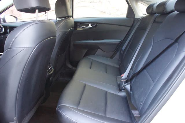 Rear seat area of the 2019 Kia Forte, gallery_worthy