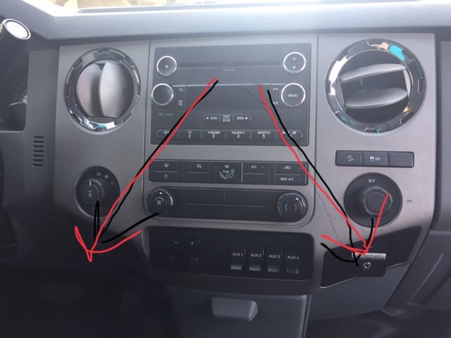 Ford F-250 Super Duty Questions - How do I remove the radio - CarGurus