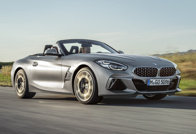 2019 BMW Z4, Front-quarter view, exterior, manufacturer, gallery_worthy