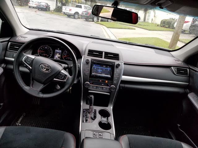 Toyota Camry Interior 2015