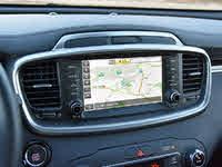 2019 Kia Sorento SX Limited V6 AWD, 2019 Kia Sorento SX Limited Navigation Map Display, interior, gallery_worthy