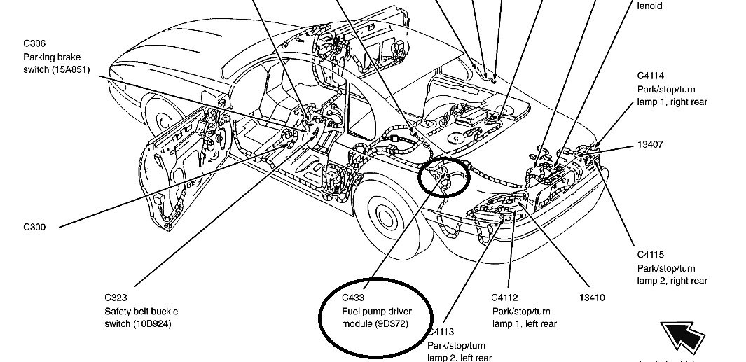 Ford Mustang Questions - Fuel pump control module - CarGurus