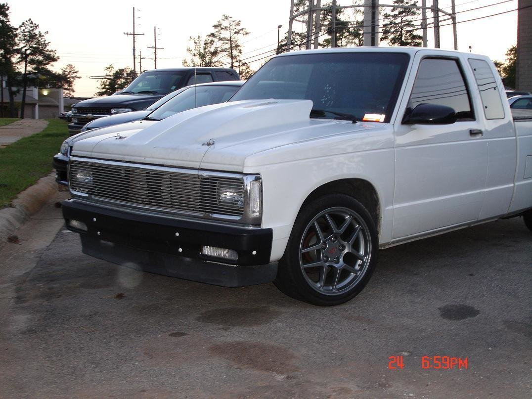 Chevrolet S 10 Questions Will C4 Wheels Fit My 1993 S 10 Cargurus