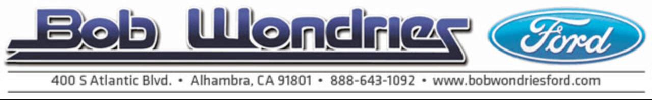 Bob Wondries Ford >> Bob Wondries Ford Alhambra Ca Read Consumer Reviews Browse Used