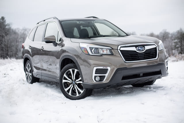 2019 Subaru Forester Snow, exterior, gallery_worthy