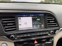 2019 Hyundai Elantra Limited Sedan FWD, 2019 Hyundai Elantra Limited infotainment system home screen display, interior, gallery_worthy