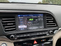 2019 Hyundai Elantra Limited Sedan FWD, 2019 Hyundai Elantra Limited radio station display, interior, gallery_worthy