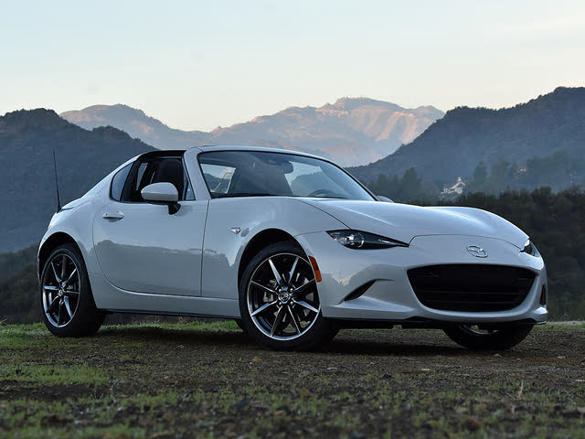 2019 Mazda MX-5 Miata RF Front Quarter Right