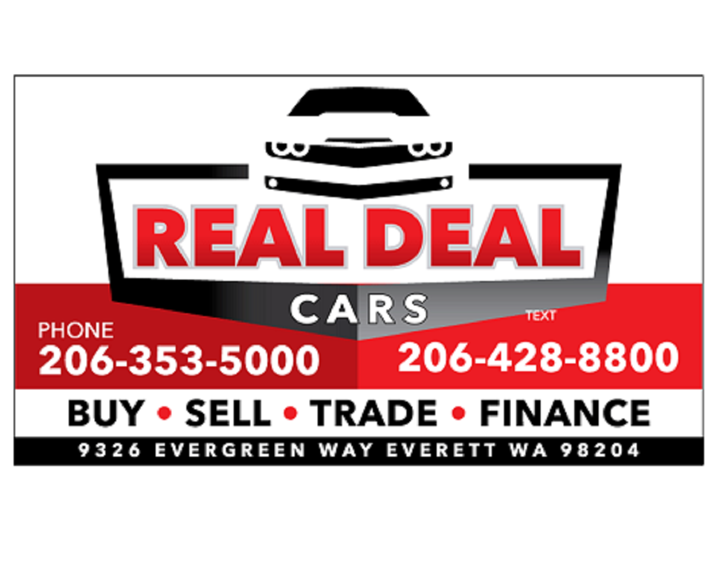 Used Cars Everett Wa >> Real Deal Cars - Everett, WA: Read Consumer reviews, Browse Used and New Cars for Sale