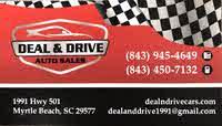 Deal & Drive Auto Sales logo