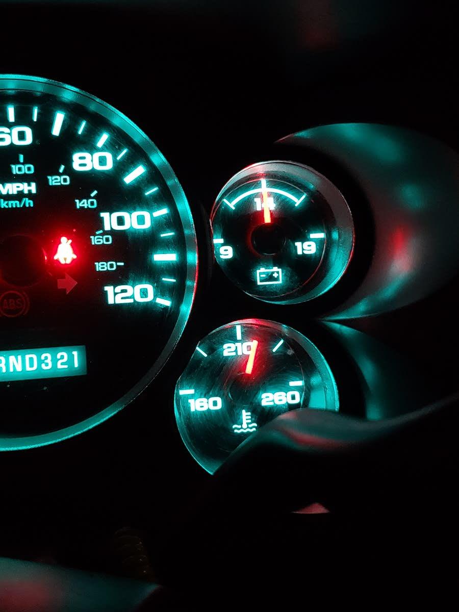 Chevrolet Silverado 1500 Questions - Temperature - CarGurus